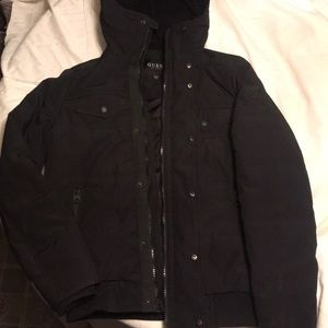 Black guess winter jacket